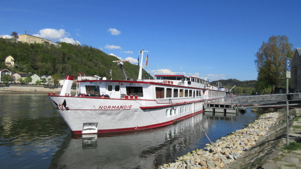 "River cruise ship ""Normandie"""