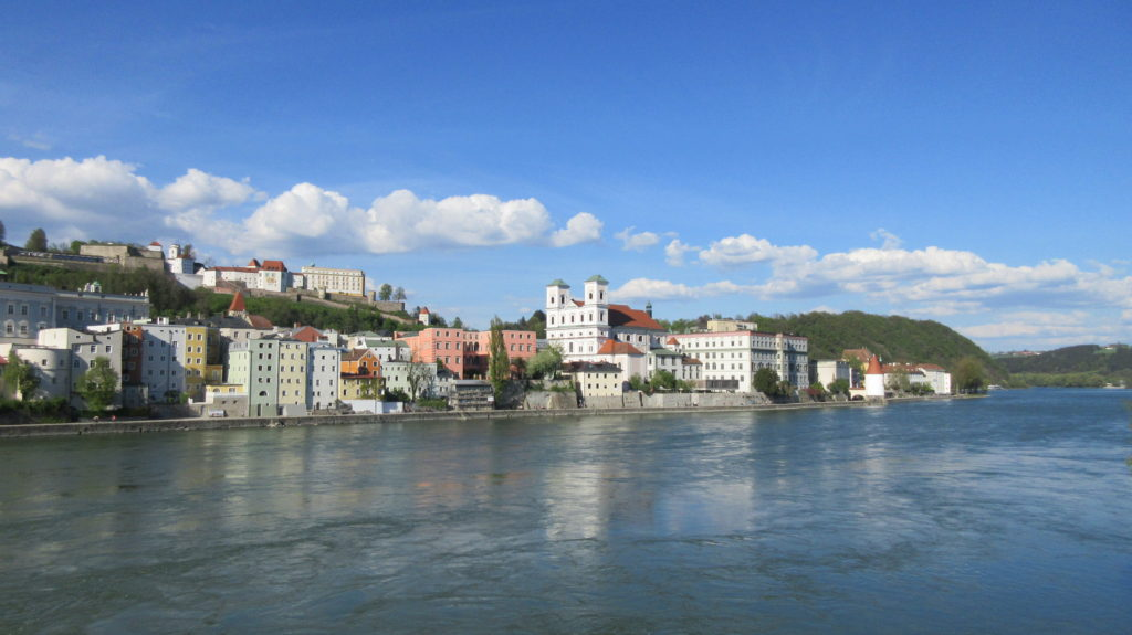 Passau, old city