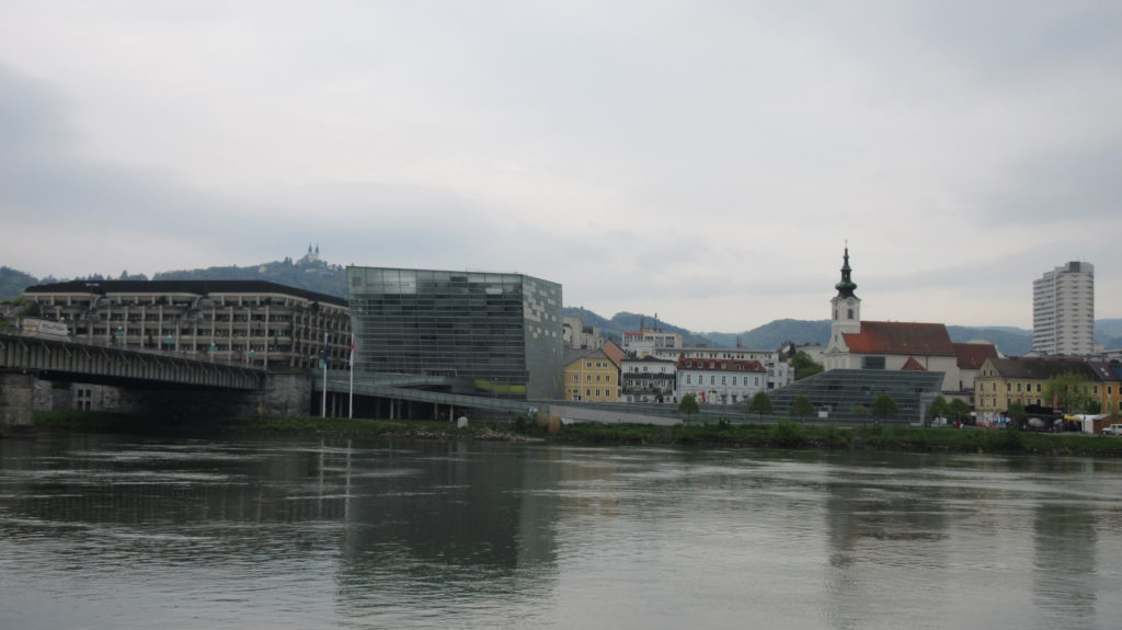 The Ars Electronica Center in Linz