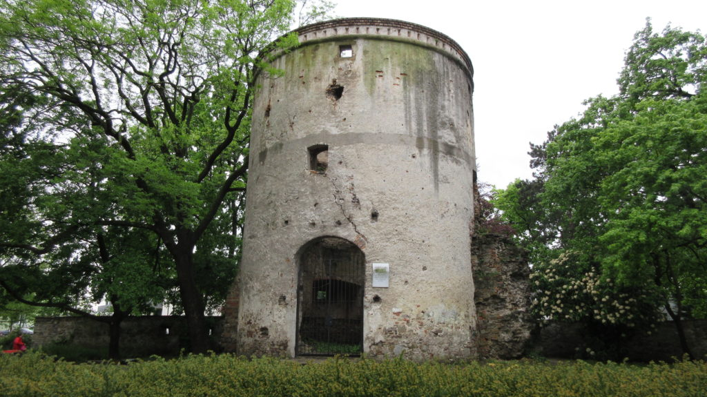 Roman tower in Tulln