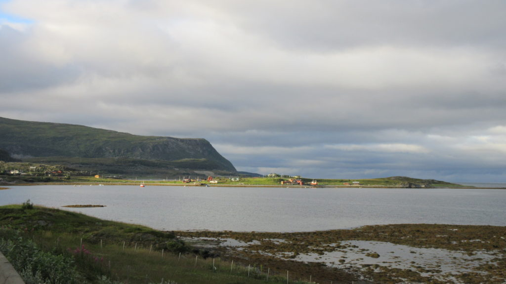 The village of Smørfjord