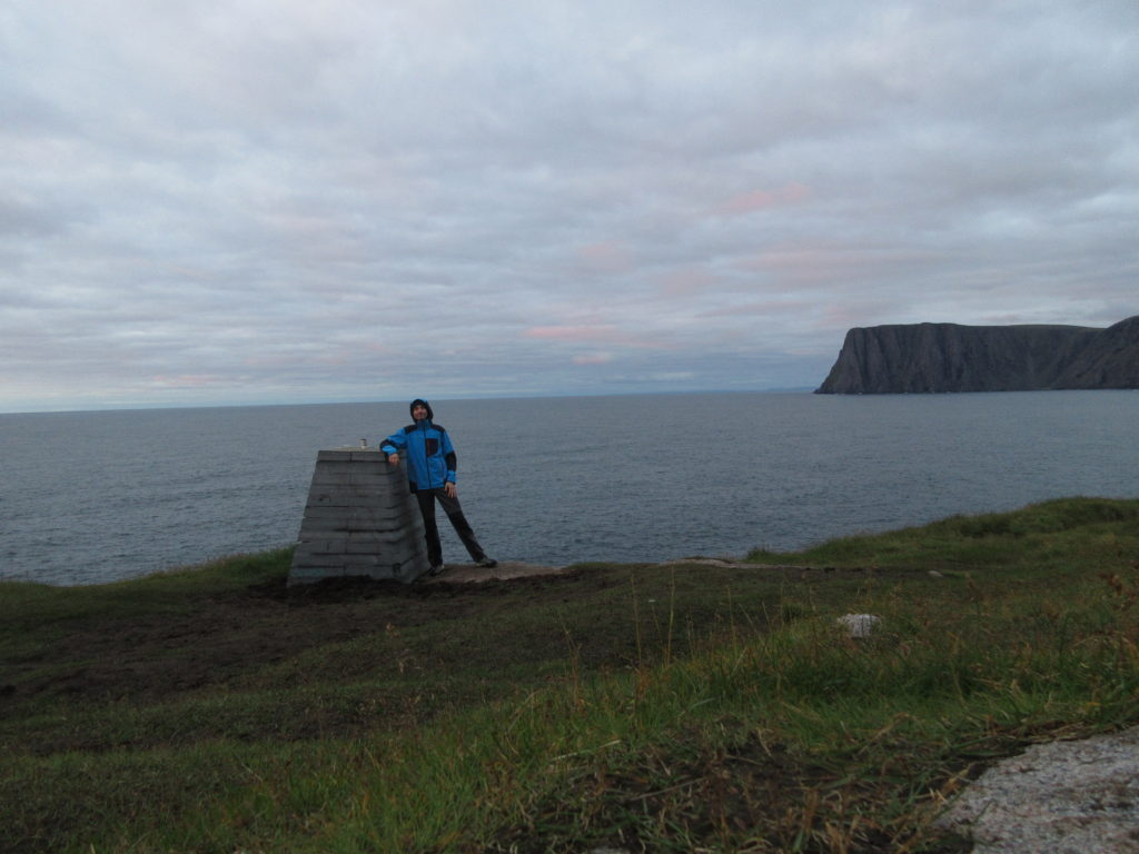 At 71° 11' 08'', Knivskjelodden is the northermost point of Europe reachable by land