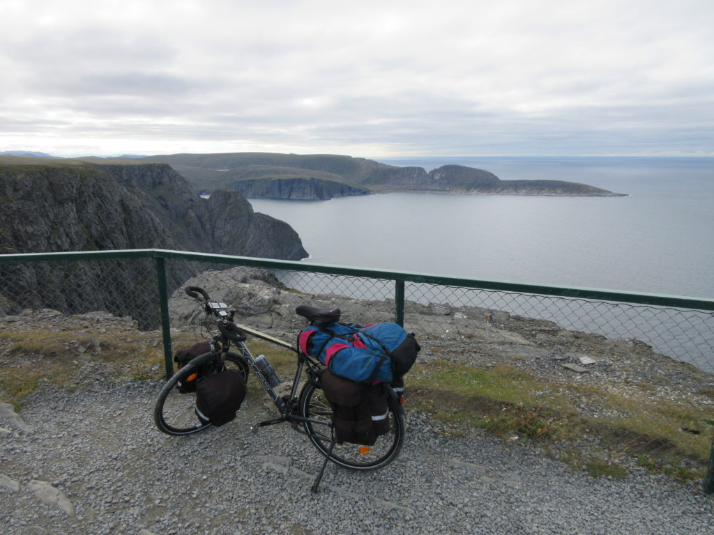 Knivskjellodden peninsula, the northermost place in Europe, where I was yesterday