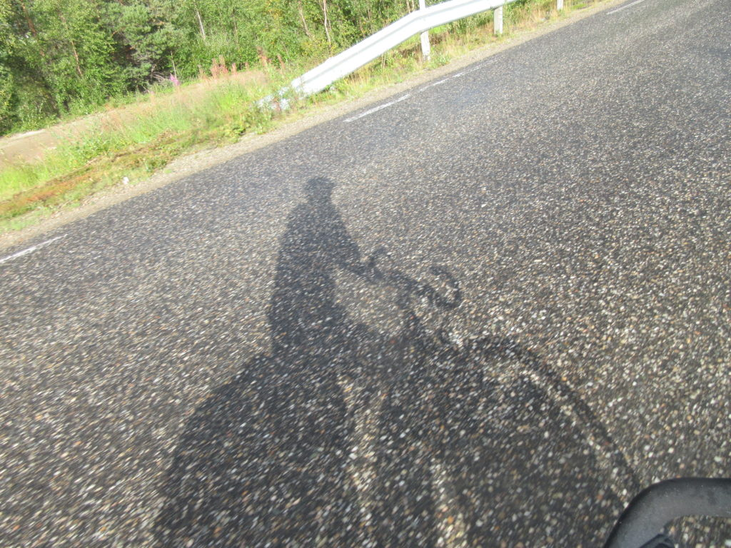 One of the rare shadows I saw in this trip