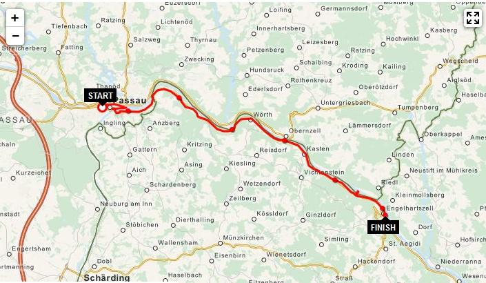 Day 01 - Tour de Danube 2016: Passau - Engelhartszell