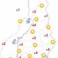Temperature in Oulu