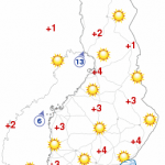 Temperature in Oulu