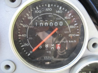 Pegaso at 100 000 km