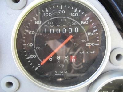 Pegaso at 100 000 km