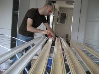 Painting the mouldings