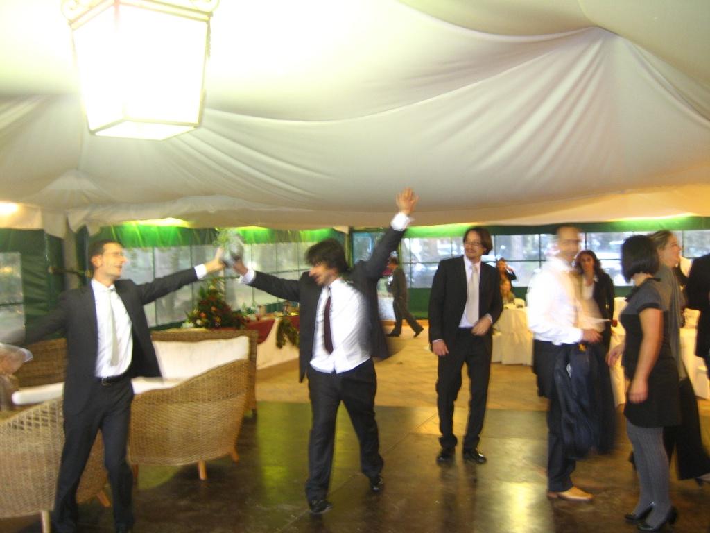 Manfredi & Alessandro dancing