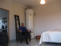 My room in Villa Lehmus at Kotka
