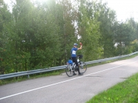 Getting to the start of the Tour de Helsinki