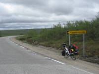 On the road to Kautokeino