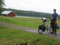 The Muonionjoki river between Kolari and Pello