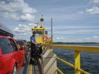On the Alassalmi ferryboat