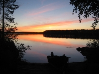 Sunset in Kuhmo