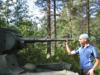 Winter War memorial site in Kuhmo