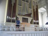 Organ in the church of Nurmes