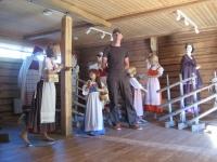 Exhibition of traditional Karelian dresses