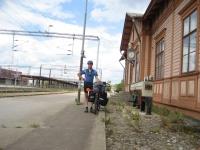 The railway museum in Pieksämäki
