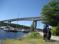 The Puumala bridge