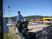 Waiting for the Kietävälä ferry
