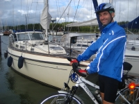 Ready for a sailing/cycling trip!
