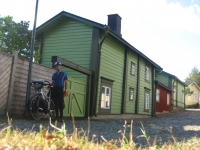 Wooden houses in Porvoo