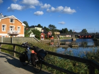 Along the river in Porvoo