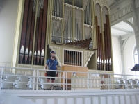 Organ in the church of Nurmes