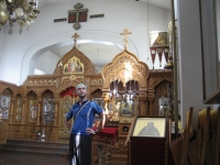 The main chapel of Valamo Monastery