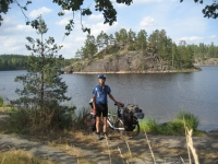 Beautiful scenery at Lake Saimaa