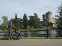 The Olavinlinna castle