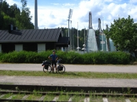 Sky jumping in Lahti