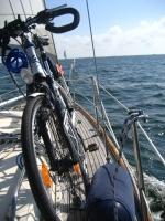 Bike at the sea