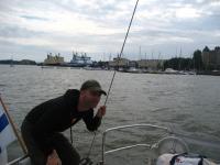 The Finnish icebreaker fleet waiting for the next winter in Helsinki