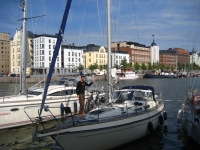 At the Guest Harbour of Katajanokka in Helsinki
